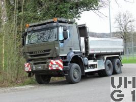IVECO Trakker AT-N 380 T 50 W Lastw Ki 11,4 t 6x6