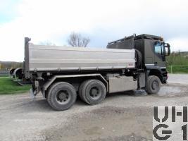 IVECO Trakker AT-N 380 T 50 W, Lastw Ki 11,4 t 6x6