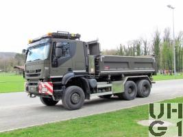 IVECO Trakker AT-N 380 T 50 W Lastw Mu Ki 10 t 6x6