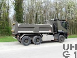 IVECO Trakker AT-N 380 T 50 W, Lastw Mu Ki 10 t 6x6
