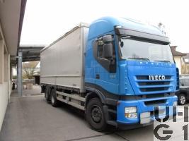 IVECO Stralis AS L260 S 45 Y/FS-CM, Lastw Verd Hebu 14,2 t 6x2