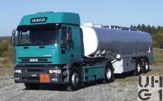 IVECO EuroTech MP 440E 43 T/P, Sattelschlepper sch Grm Tankw 10,7 t 4x2, Foto Armasuisse