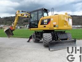 Caterpillar M318F, Pneubagger GG 20 t