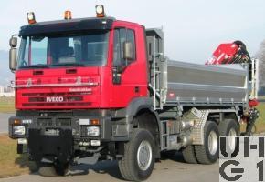 IVECO EuroTrakker MP 260E 44W, Lastw Kipper 11,9 t 6x6 gl für Schneepflug/Ladekran, Foto Armasuisse