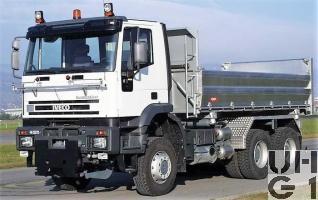 IVECO EuroTrakker MP 260E 48W, Lastw Kipper 12,6 t 6x6 gl für Schneepflug, Foto Armasuisse