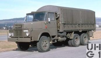 Henschel HS 3-14 HA CH Ersatzteilwagen BE 4, Bild Armasuisse