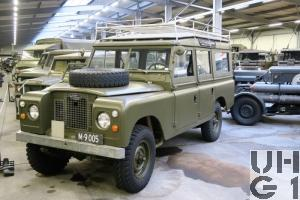 Land-Rover 109 Serie IIa, Pw 9 Pl gl 4x4