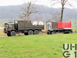Saurer 10 DM, Lastw 10 t gl 6x6 Für Sortiment Wassertransport