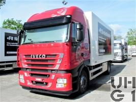 IVECO Stralis AS-L 190 S 42 P, Lastwagen Fahrschule Kasten 8,4 t 4x2, Musterfahrzeug