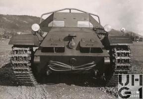 Praga CKD DT-III, 12 t Artillerie Schlepper, Foto K+W Thun