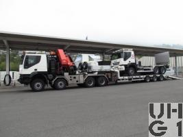 IVECO Trakker AT-N410T50W/P, Sattelschl/Lastw F WA Int Ladekr GG 32t 8x8 gl