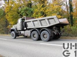 Saurer D 330 N, Lastw Muldenki 11,5 t 6x4
