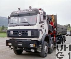 Mercedes Benz 3538 AK, 8x8/4 Kran, CONW SCH INT 8,1
