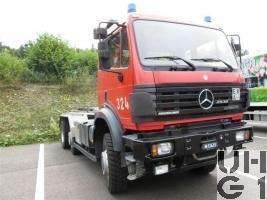Mercedes Benz Powerliner 2538, 6x4/4 WDB, Wechselaufbauwagen Abroll/Haken sch gl / bgl