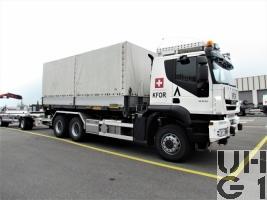 IVECO Trakker AT-N 380 T 45 W/P, Lastw für WA 12,8 t 6x6