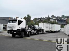 IVECO Trakker AT-N 410 T 50 W, Lastw/Sattelschl Gesch für Wa INT GG 32 t 8x8