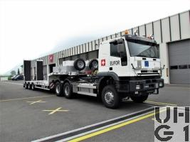 IVECO EuroTrakker MP 720 E 48WT/P, Lastwagen/Sattelschlepper International Seilwinde 13,8 t 6x6 l