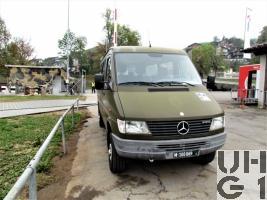 Mercedes Benz 312D, Kleinbus 13 Pl 4x4