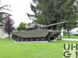 Panzer 57 Centurion Mk 7 / Mk 12, Pz 57 mit 10,5 cm Pz Kan 60