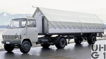 Steyr 590, Sattelschl sch 4x2 für Lwf, Foto Armasuisse