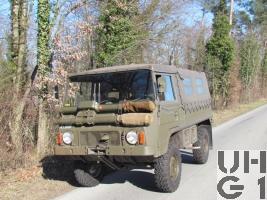 Steyr Puch Pinzgauer 710 M, 1,0 t 4x4 Funkwagen SE-412/AC