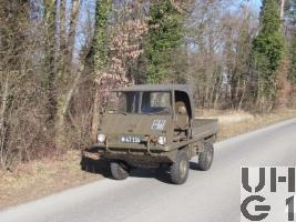 Steyr Puch Typ 700 AP Haflinger, 0,49 t 4x4, 2. Serie Modell 67