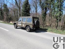 Steyr Puch 290 GDC, Pw Swissint KA 5 Pl 4x4 gl