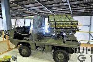 Steyr Puch Typ 700 AP Haflinger, Lwf Werferw BANTAM l gl 4x4 2. Serie, Modell 67