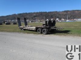 Tiefbettanhänger 93, 31,4 t Moser Typ TG-4-GRD