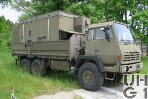 Steyr 1491.320 P40/M, Lastw 9.6 t gl 6x6 für Einsatzstation ADS 95