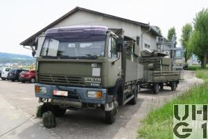 Steyr 12S23/K37, Lastw 4,7 t bgl 4x4 mit Uem Ausr ADS 95