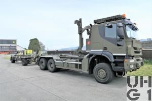 IVECO Trakker AT-N380 T 45 W/P, Lastwagen WABRB 9,8 t 6x6