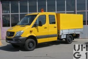 Mercedes Benz 316 CDI, Lieferw DOKA, Brü-Bla GG 3,5 t 4x4