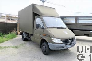 Mercedes Benz 413 CDI, 4x4 Lastw L für WA 2,3 t mit WB L Kasten mit Hebebühne 1,3 t Calag