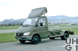 Mercedes Benz 413 CDI, Lastw L für WA 2,3 t 4x4, Bild Armasuisse