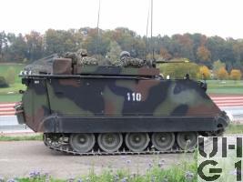 Kdo Pz 63/07 M-113 A1 mit SE-235/m2+/m1