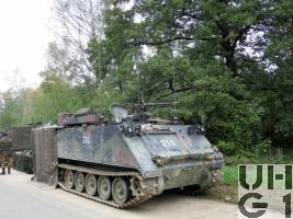 Kdo Pz 63/07 M-113 A1 mit SE-235 m2+/m1