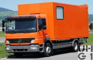 Mercedes Benz Atego 1329L, Messw sch Hebu 4,7 t 4x2, Bild Armasuisse