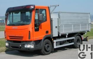 Iveco Eurocargo ML100E18K, Lastw Kipper 4,3 t 4x2, Bild Armasuisse