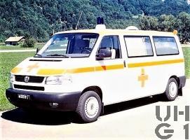 VW Transporter Typ 2 T4 Synchro, Ambw 2 Liegepl L 4x4, Bild VBS