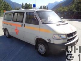 VW Transporter Typ 2 T4 Synchro, Ambw 2 Liegepl L 4x4