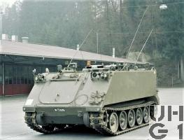 Zielpz 63 SIM 74 M-113 A1 mit SE-412, Bild Armasuisse