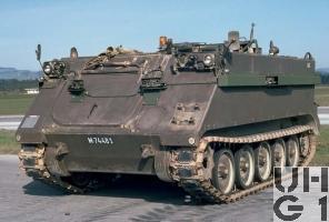 Zielpz 63 SIM 81 M-113 A1 mit SE-235/M1, Bild Armasuisse