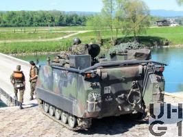 Flt Pz 63/97 M-113 A1 mit SE-235/m2+m1/INTAFF