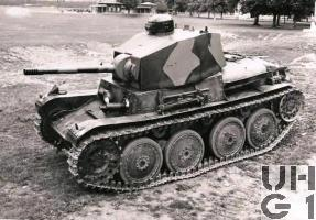 Panzerwagen 39 Typ LTL-H, Pzw 39 mit Pak 41, Foto KTA