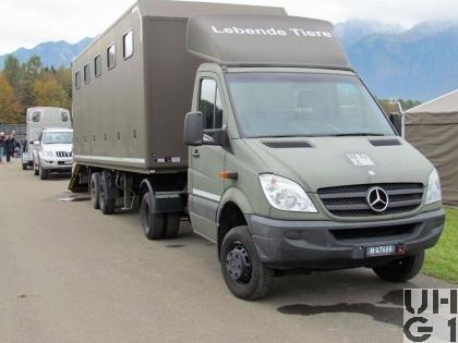 Mercedes Benz 515 CDI, Sattelschl 1,1 t 4x4