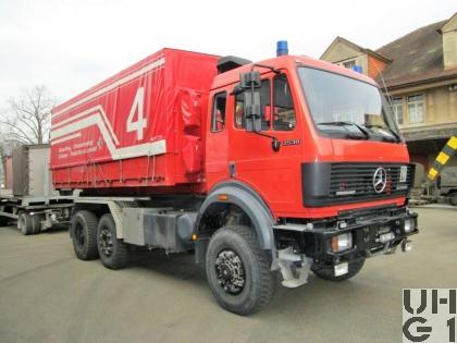 Mercedes Benz Powerliner 2538, 6x4/4 WDB, Lastwagen WABRA/HA RTTG