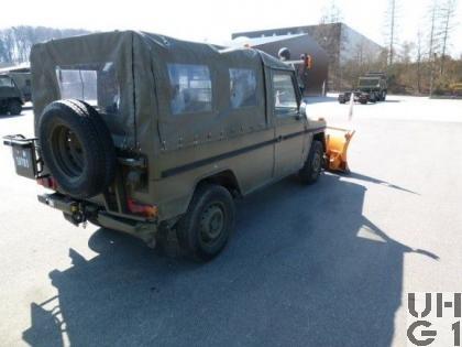 Steyr Puch 230 GE, Pw 8 Pl/0,8t 4x4 Schneepfl G8, Bild Ruag AG Thun