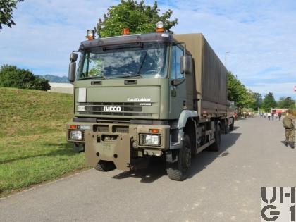 IVECO EuroTrakker MP 190E 35W/P, Lastw für WA Truppe 8,8 t 4x4 gl für Hebebühne/Schneepflug