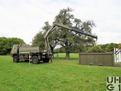 Steyr 1291.320 P43/M Lastw 3,8 t gl 4x4 mit Ladekran und Seilwinde (zu ADS 95)